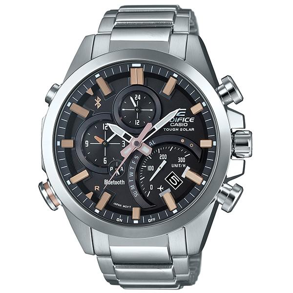カシオ エディフィス ソーラー腕時計  EQB-500D-1A2JF モバイルリンク機能搭載 メンズ 国内正規品 【動画有】