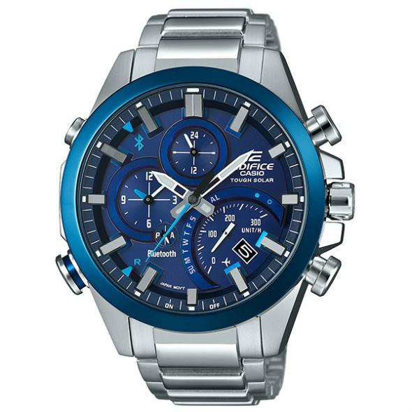 カシオ エディフィス ソーラー腕時計  EQB-500DB-2AJF モバイルリンク機能搭載 メンズ 国内正規品 【動画有】