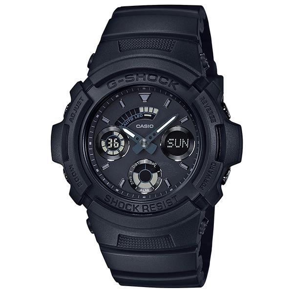 カシオGショック黒 アナログ・デジタル腕時計  AW-591BB-1AJF メンズ 国内正規品