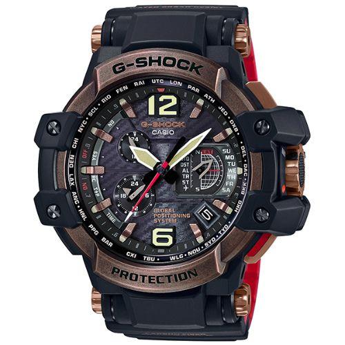 カシオGショック グラビティマスター GPSハイブリッド電波ソーラー腕時計 ローズゴールド×ブラック GPW-1000RG-1AJF メンズ 限定品 国内正規品