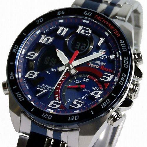 カシオ エディフィス スマートフォンリンク ソーラー腕時計  ECB-900TR-2AJR スクーデリア・トロ・ロッソ・リミテッドエディション メンズ 国内正規品