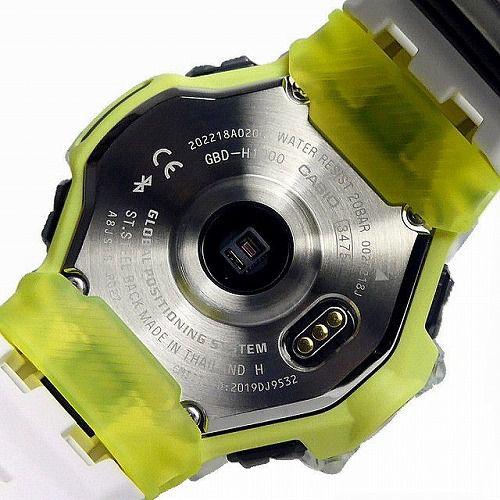 カシオGショック ジー・スクワッド 心拍計 GPS機能 Bluetooth 搭載 ソーラー電波腕時計 GBD-H1000-7A9JR メンズ 国内正規品