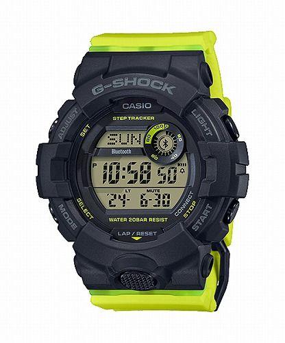 CASIO G-SHOCK G-SQUAD デジタル腕時計 GMD-B800SC-1BJF メンズ  ミッドサイズ  スマートフォンリンク  国内正規品