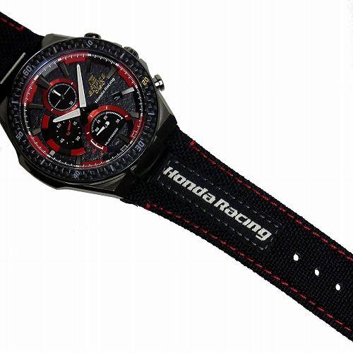 カシオ エディフィス ソーラー腕時計 EFS-560HR-1AJR Honda Racing Limited Edition 第4弾 国内正規品