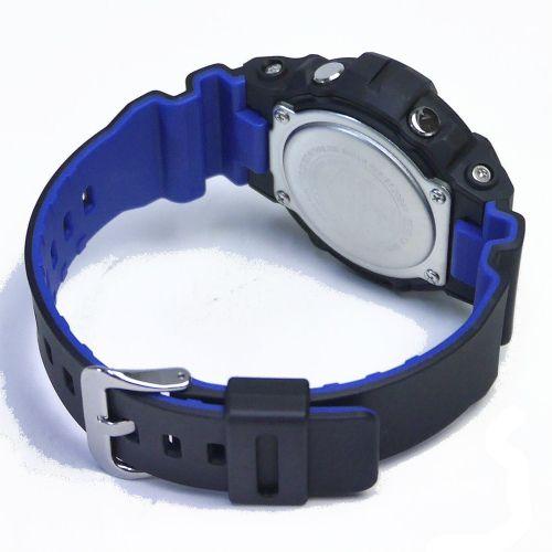 カシオGショック黒 アナログ・デジタル腕時計  GA-800LT-1AJF トリコロール メンズ 国内正規品