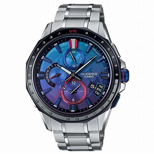 カシオ オシアナス Bluetooth搭載GPSハイブリッド電波ソーラー腕時計 OCW-G2000SB-2AJR メンズ 宇宙兄弟コラボレーションモデル 3年保証 国 内正規品