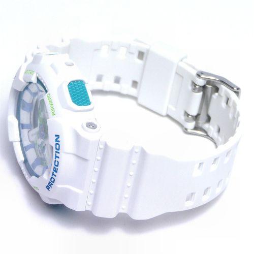 カシオGショック白 アナログ・デジタル腕時計  GA-110WG-7AJF メンズ 国内正規品 【動画有】