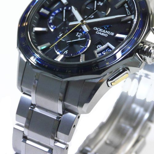 カシオ オシアナス Bluetooth搭載GPSハイブリッド電波ソーラー腕時計   OCW-G2000G-1AJF メンズ 3年保証 国内正規品