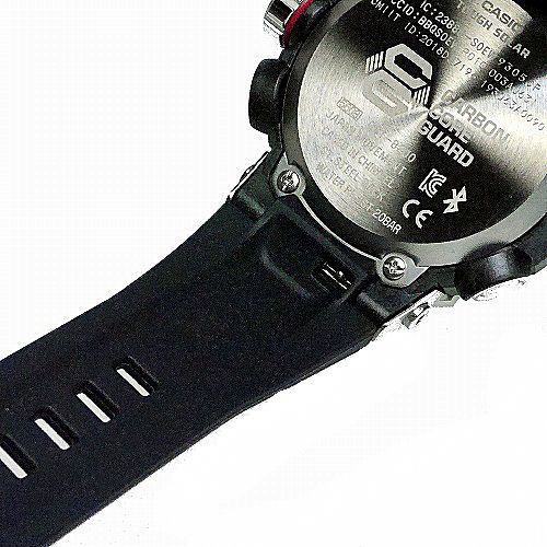 カシオGショックGスチール ソーラー腕時計  GST-B200-1AJF スマートフォン リンク メンズ 国内正規品