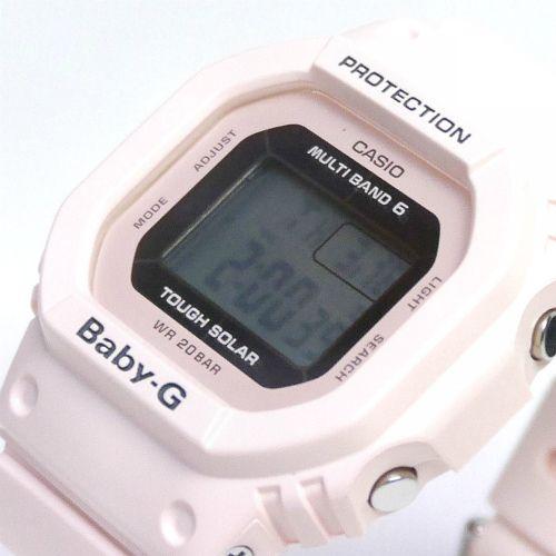 カシオ ベビーG ソーラー電波腕時計  BGD-5000-4BJF レディース 国内正規品 【動画有】