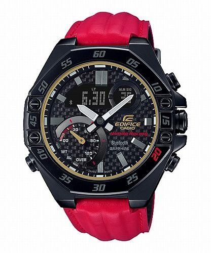 カシオ エディフィス 腕時計 Honda Racing Limited Edition ECB-10HR-1AJR メンズ スマートフォンリンク 国内正規品