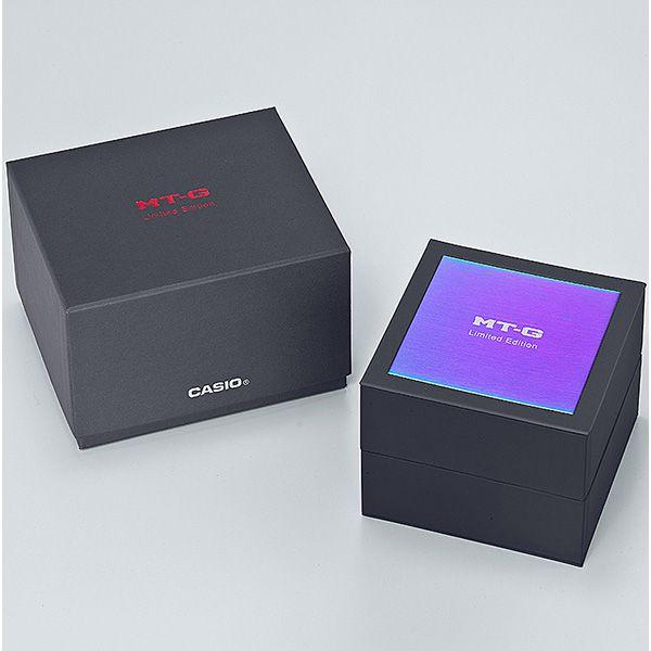 CASIO G-SHOCK MT-G 電波ソーラー腕時計 MTG-B1000VL-4AJR メンズ スマートフォンリンク 火山雷 限定品 国内正規品