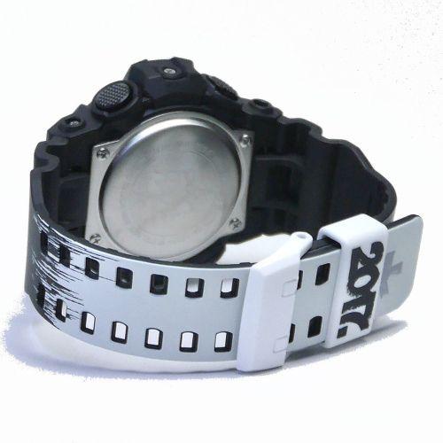 カシオGショック黒 アナデジ腕時計  GA-700EH-1AJR メンズ 35周年記念スペシャルコラボレーションモデルG-SHOCK×ERIC HAZE 国内正規品