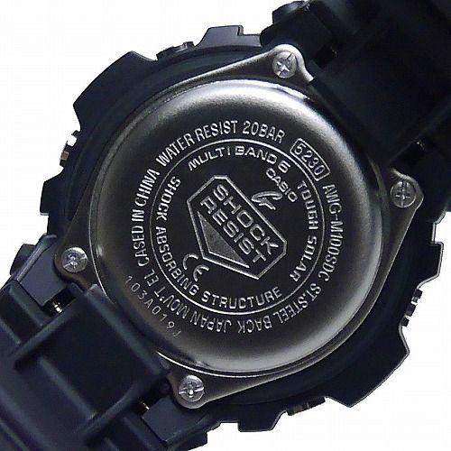 カシオGショック ソーラー電波腕時計 AWG-M100SDC-1AJF Black and Yellow Series メンズ 国内正規品