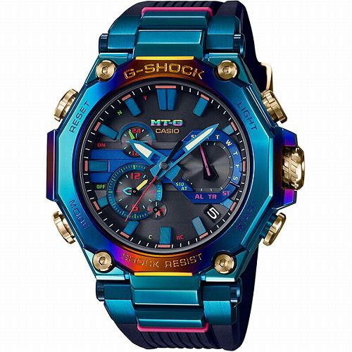 CASIO G-SHOCK MT-G 電波ソーラー腕時計 MTG-B2000PH-2AJR メンズ ブルーフェニックス スマートフォンリンク  限定品  国内正規品 予約受付