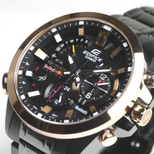 カシオ エディフィス ソーラー腕時計  EQB-510RBM-1AJR インフィニティ・レッドブル・レーシング・タイアップモデル モバイルリンク機能搭載 メンズ
