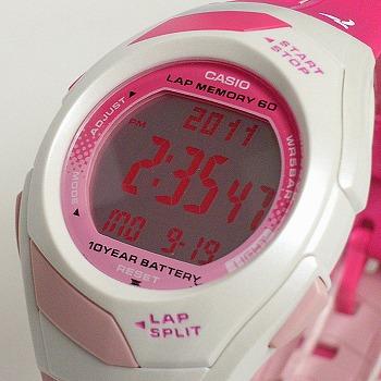 カシオ フィズ デジタル腕時計  STR-300J-4BJF レディース 国内正規品 【動画有】