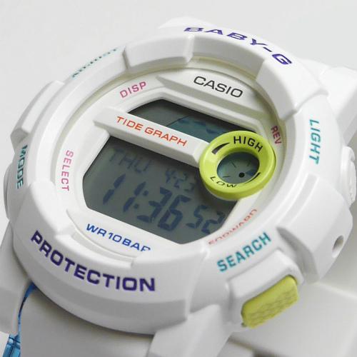 カシオ ベビーG Gライド デジタル腕時計  BGD-180FB-7JF レディース
