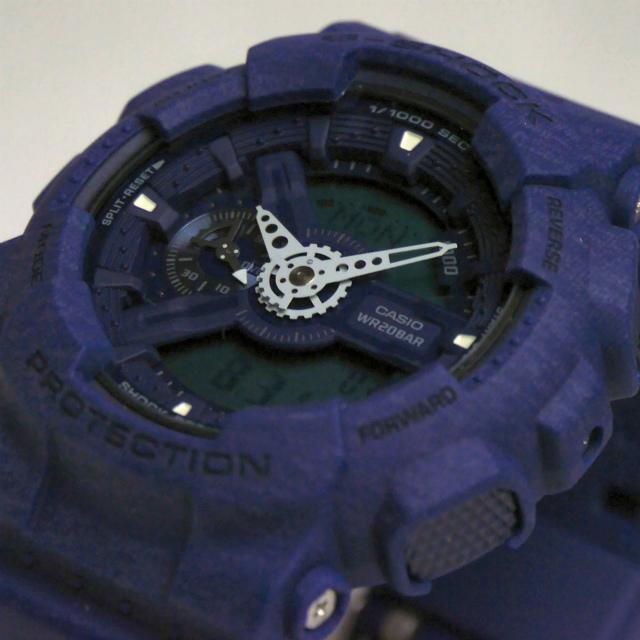 カシオGショック アナログ・デジタル腕時計  GA-110HT-2AJF ヘザード・カラー・シリーズ 限定品  メンズ 国内正規品