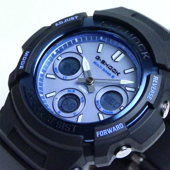カシオGショック ソーラー電波腕時計   AWG-M100SF-2AJR メンズ ファイヤー・パッケージ2016年モデル 国内正規品 【動画有】