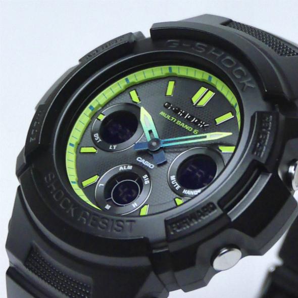 カシオGショック ソーラー電波腕時計  AWG-M100SLY-1AJF メンズ 国内正規品