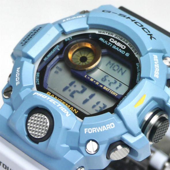 カシオGショック レンジマン ソーラー電波腕時計  GW-9402KJ-2JR Love The Sea And The Earth メンズ 国内正規品