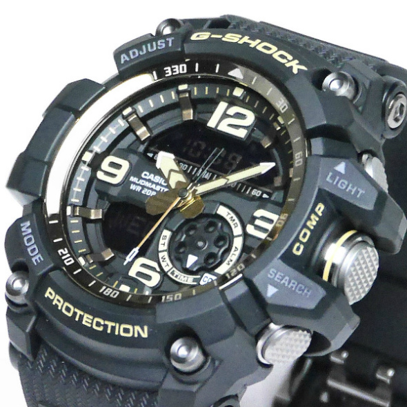 カシオGショック マッドマスター 腕時計  Vintage Black & Gold GG-1000GB-1AJF メンズ 国内正規品 【動画有】