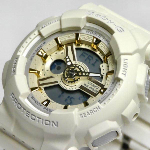 カシオ ベビーG アナ・デジ 腕時計   BA-110GA-7A2JF レディース 限定品 国内正規品 【動画有】