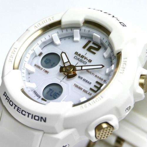 カシオ ベビーG  アナ・デジ ソーラー電波腕時計  BGA-2300G-7BJF レディース 国内正規品 【動画有】