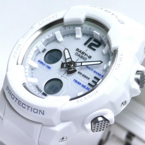 カシオ ベビーG  アナ・デジ ソーラー電波腕時計  BGA-2300-7BJF レディース 国内正規品 【動画有】