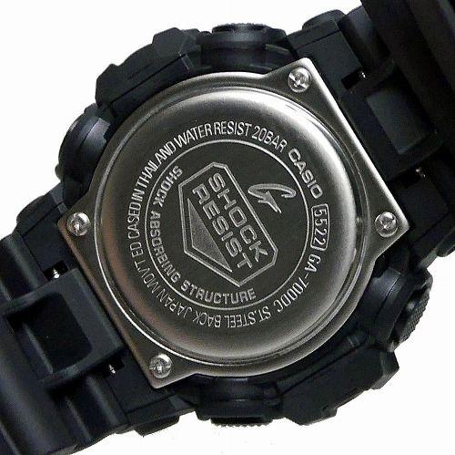 カシオGショック アナデジ腕時計 GA-700DC-1AJF Black and Yellow Series メンズ 国内正規品