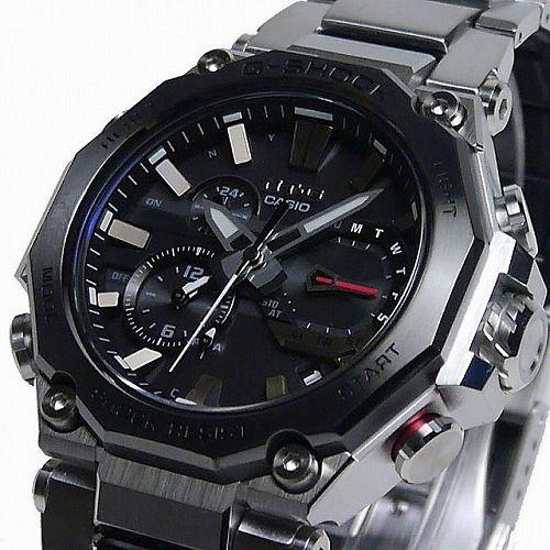 CASIO G-SHOCK MT-G 電波ソーラー腕時計 MTG-B2000D-1AJF メンズ スマートフォンリンク  国内正規品