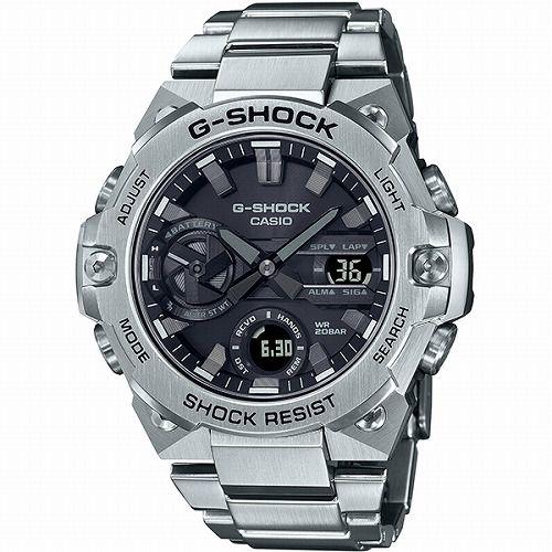 カシオGショックGスチール ソーラー腕時計 GST-B400D-1AJF スマートフォン リンク メンズ  国内正規品 予約受付