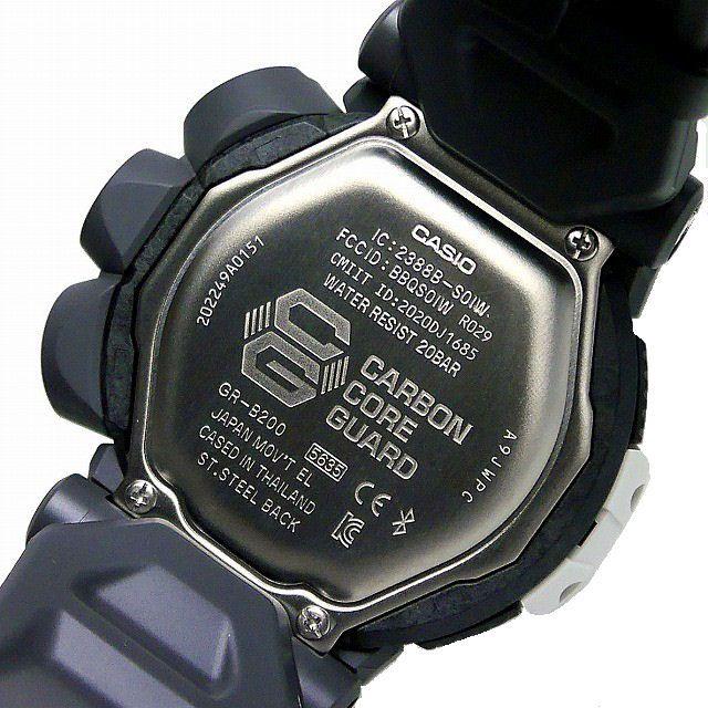 カシオGショック グラビティマスター  GR-B200RAF-8AJR スマートフォンリンク 腕時計 ROYAL AIR FORCE タイアップモデルメンズ 国内正規品