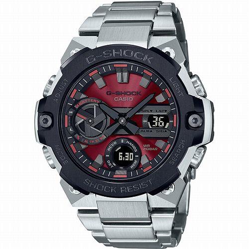 カシオGショックGスチール ソーラー腕時計 GST-B400AD-1A4JF スマートフォン リンク メンズ  国内正規品 予約受付