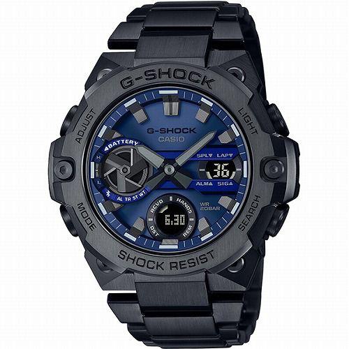 カシオGショックGスチール ソーラー腕時計 GST-B400BD-1A2JF スマートフォン リンク メンズ  国内正規品 予約受付