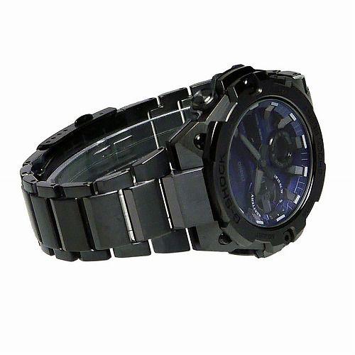 カシオGショックGスチール ソーラー腕時計 GST-B400BD-1A2JF スマートフォン リンク メンズ  国内正規品