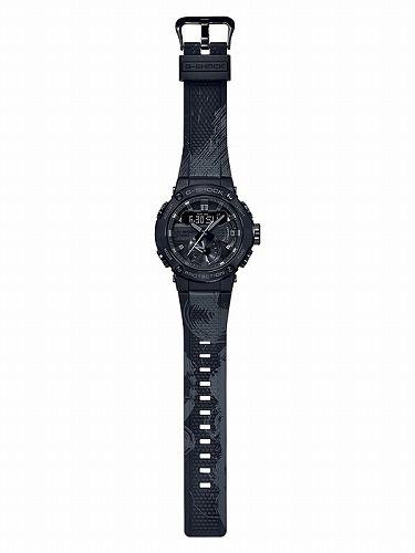 カシオGショックGスチール Bluetooth搭載 ソーラー腕時計 『Formless』太極 GST-B200TJ-1AJR メンズ スマートフォンリンク 国内正規品
