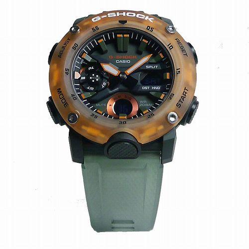 カシオGショック アナログ・デジタル腕時計 GA-2000HC-3AJF メンズ「HIDDEN COAST」スケルトン  国内正規品