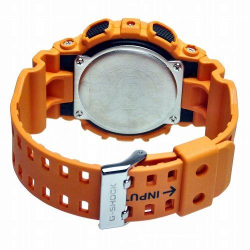 カシオGショック アナログ・デジタル腕時計 GA-100RS-4AJF メンズ 国内正規品