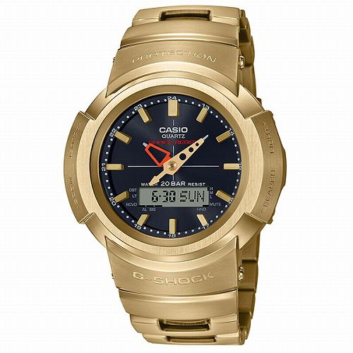 CASIO G-SHOCK アナログ・デジタル ソーラー電波腕時計  AWM-500GD-9AJF フルメタルモデル メンズ 国内正規品