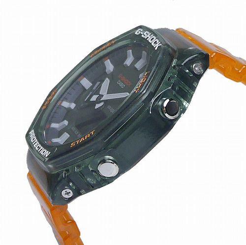 CASIO G-SHOCK アナログ・デジタル腕時計 GA-2100HC-4AJF メンズ 「HIDDEN COAST」スケルトン  国内正規品