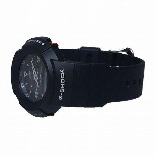 カシオGショック黒 アナログ・デジタル腕時計  AW-500E-1EJF メンズ 復刻モデル  国内正規品
