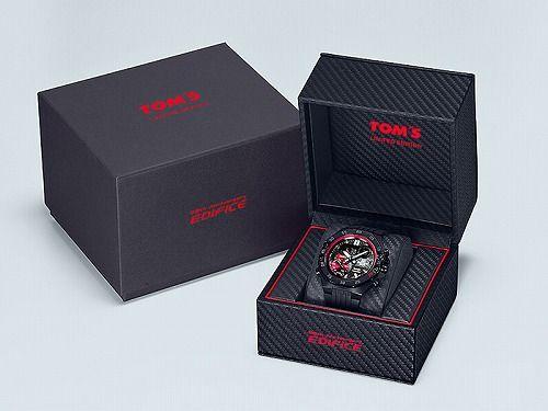 カシオ エディフィス 腕時計TOM'Sコラボレーションモデル ECB-10TMS-1AJR メンズ  スマートフォンリンク 国内正規品