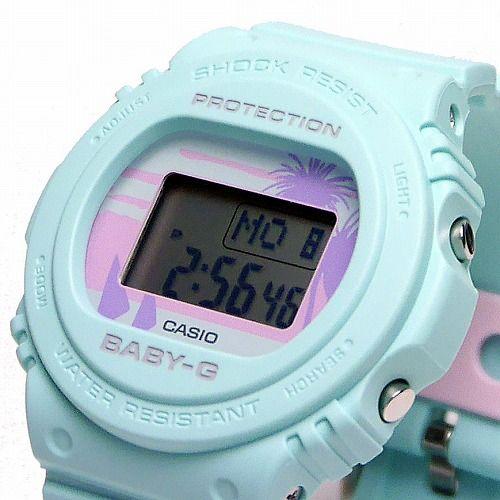 カシオ ベビーG デジタル腕時計 BGD-570BC-3JF レディース 80's Beach Colors 限定品 国内正規品