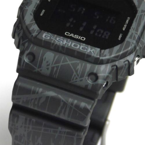 カシオGショック デジタル腕時計  DW-5600SL-1JF スラッシュ・パターン・シリーズ