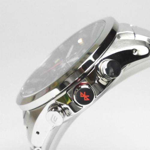 カシオ エディフィス アナログ・デジタル ソーラー腕時計   ECB-500D-1AJF モバイルリンク機能搭載 メンズ 国内正規品 【動画有】