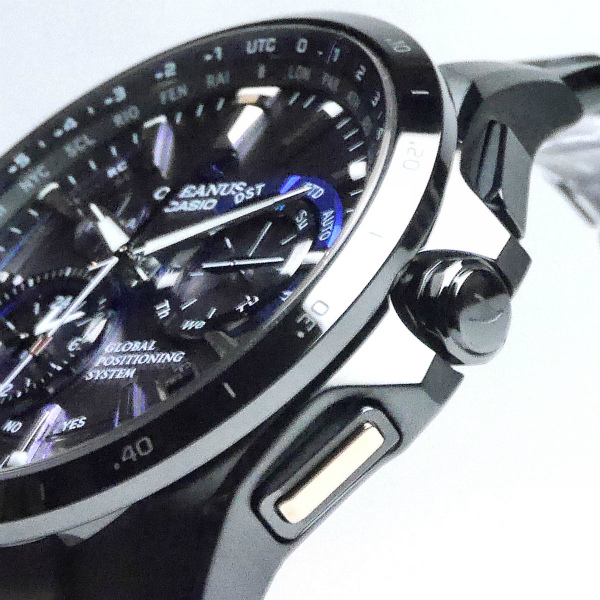 カシオ オシアナス GPSハイブリッド電波ソーラー腕時計   OCW-G1000B-1A4JF メンズ 3年保証 世界限定500本 国内正規品【動画有】