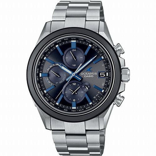 CASIO OCEANUS CLASSIC LINE ソーラー電波腕時計 OCW-T4000A-1AJF メンズ スマートフォンリンク 3年保証 国内正規品 予約受付
