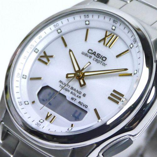 カシオ ウェーブセプター ソーラー電波腕時計 WVA-M630D-7A2JF メンズ 国内正規品 【動画有】